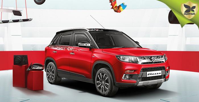 Maruti Suzuki Vitara Brezza Compact SUV To Get AMT Soon