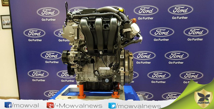 Ford India Unveiled The New 1.5-litre Petrol Engine