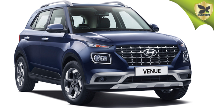 Hyundai Venue Compact SUV Revealed In India; Launch on 21 May