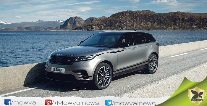 Land Rover Range Rover Velar To Be Launched On January 20 In India
