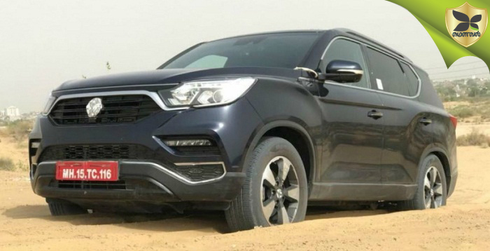 Mahindra Rexton Spotted Testing In India