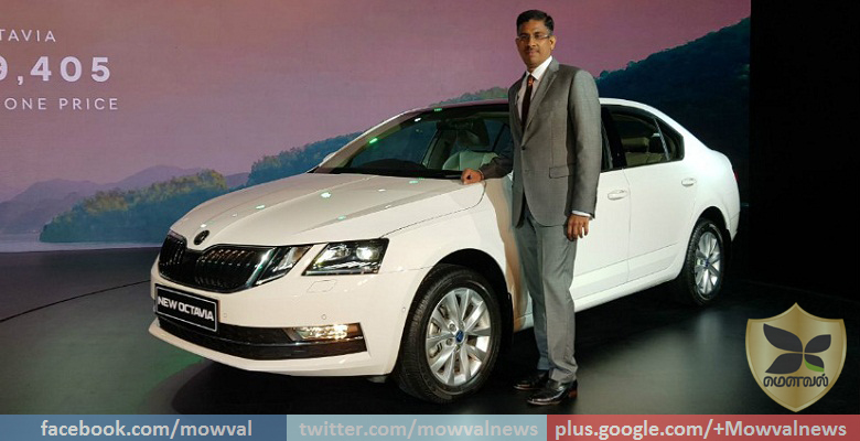 2017 Skoda Octavia Facelift Launched At Starting Price Of Rs 15.49 lakhs