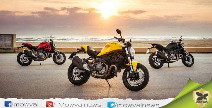 Ducati Revealed The 2018 Monster 821
