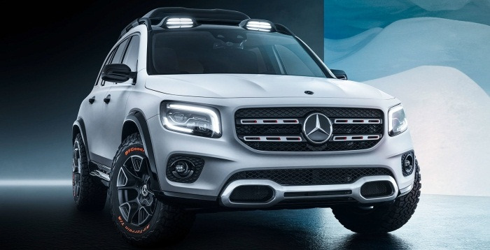 Mercedes-Benz GLB SUV Concept  Revealed In China