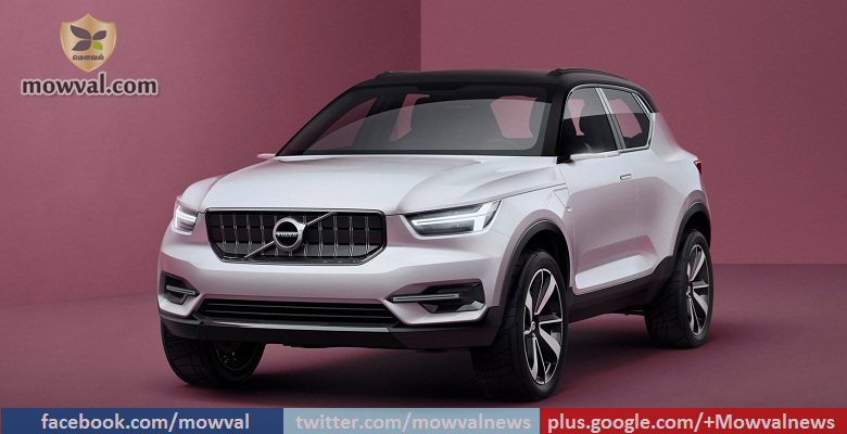 Volvo introduced two concept models in 40 Series