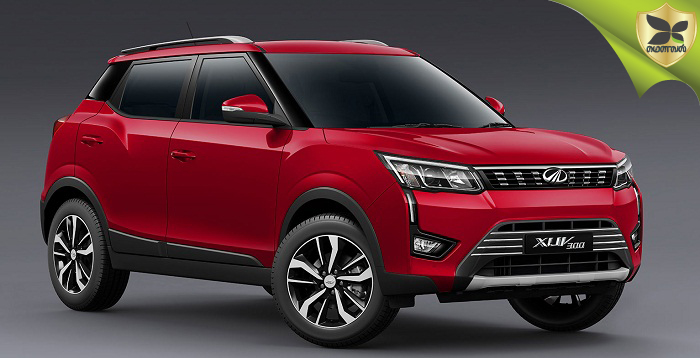 Mahindra S201 Named XUV300: Official Images Revealed