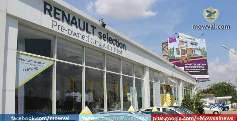 Renault Enters used Pre-Owned Car Market