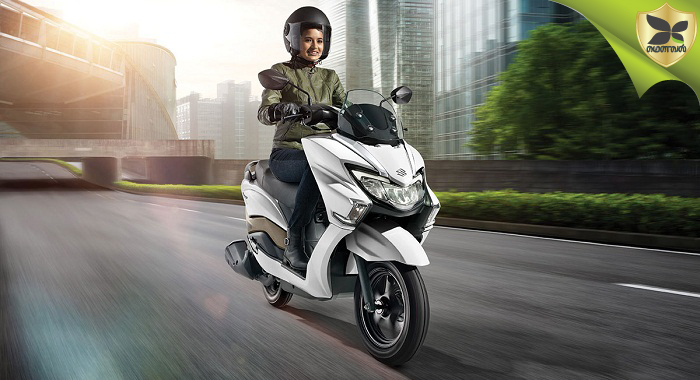 Suzuki Burgman Street Scooter To Be Launched On Tomorrow