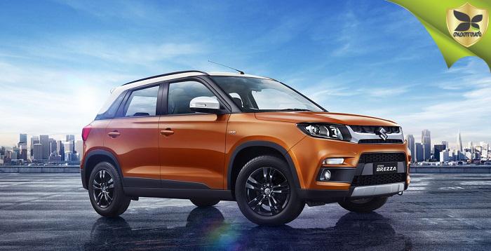 Maruti Suzuki Vitara Brezza 2018 With AMT Launched At Rs 8.54 lakhs
