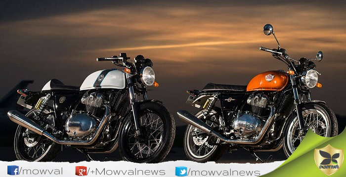 Royal Enfield Revealed The Interceptor 650 And Continental GT 650