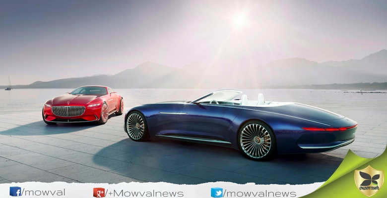 Mercedes Benz Maybach Vision 6 Cabriolet Revealed