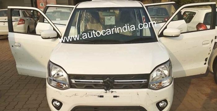 Next-generation 2019 Maruti Suzuki Wagon R Images Leaked