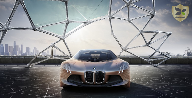 BMW unveils Automatic Driving car Concept to Celebrate its 100th Anniversary