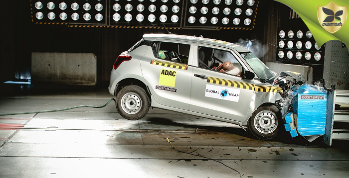 Maruti Suzuki Swift Scores Only Two Star Rating In Global NCAP