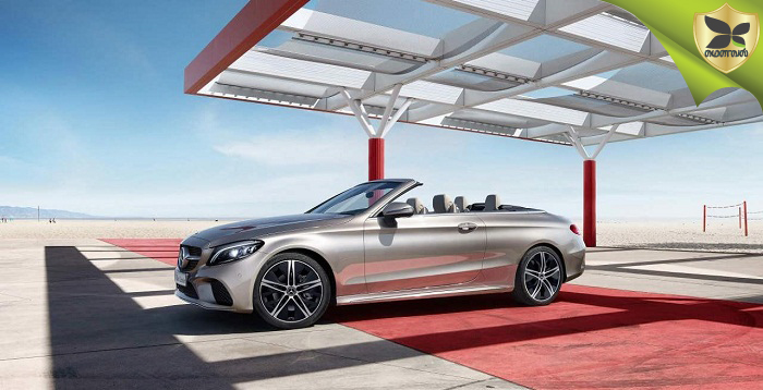 2018 Mercedes-Benz C-Class Cabriolet Launched At Price Of Rs 65.25 Lakh