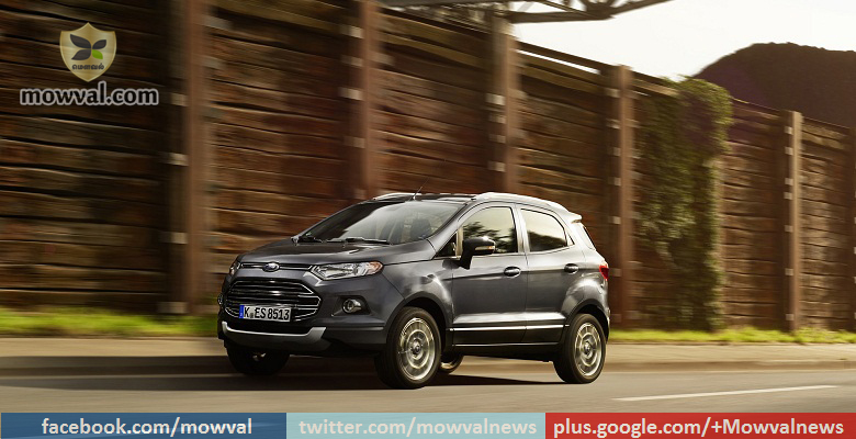 Ford recalls 48,700 EcoSport compact SUV