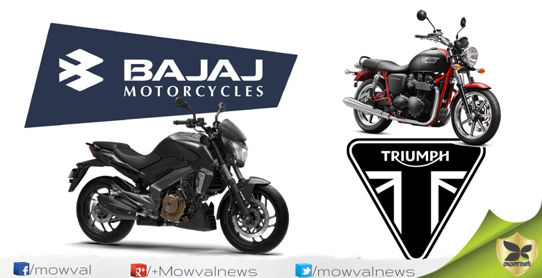 Bajaj And Triumph Motorcycles Announced Global Partnership