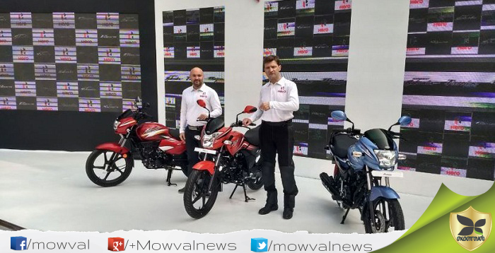 Hero MotoCorp Revealed The New Super Splendor, Passion Pro and Passion XPro