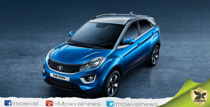 Tata Nexon launched in India With Starting Price Of Rs 5.97 lakhs