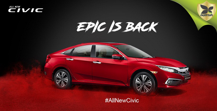 2019 Honda Civic Launched In India At Starting Price Of Rs 17.70 Lakh