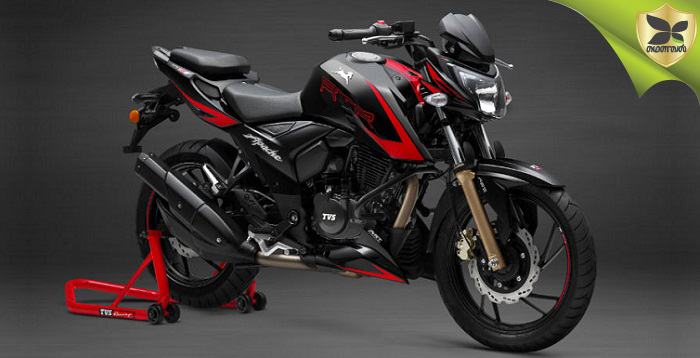 TVS Launched The New Apache RTR 200 4V Race Edition 2.0