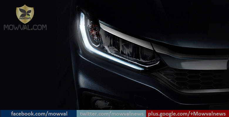 Honda City Facelift Teased Through Images