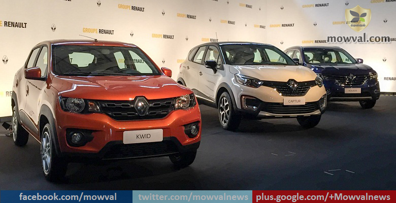 Renault Kwid 1.0-litre, Capture And Next Generation Koleos Unveiled In Brazil