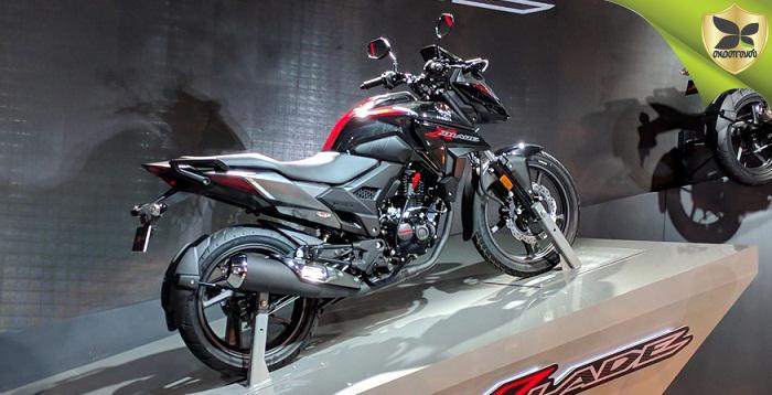 2018 Delhi Auto Expo: Honda unveils New X-Blade 160cc Bike