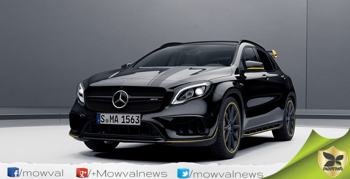 Mercedes-AMG CLA 45 and GLA 45 launched With Price Of Rs 75.20 lakhs and Rs 77.85 lakhs
