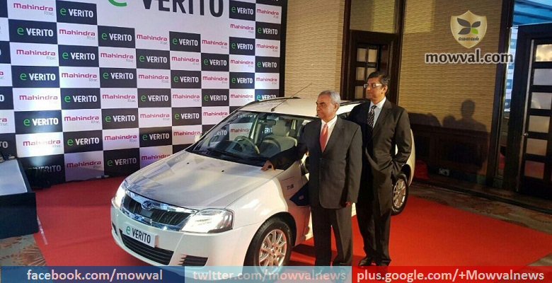Mahindra e Verito launched at starting price of Rs. 9.5 lakh