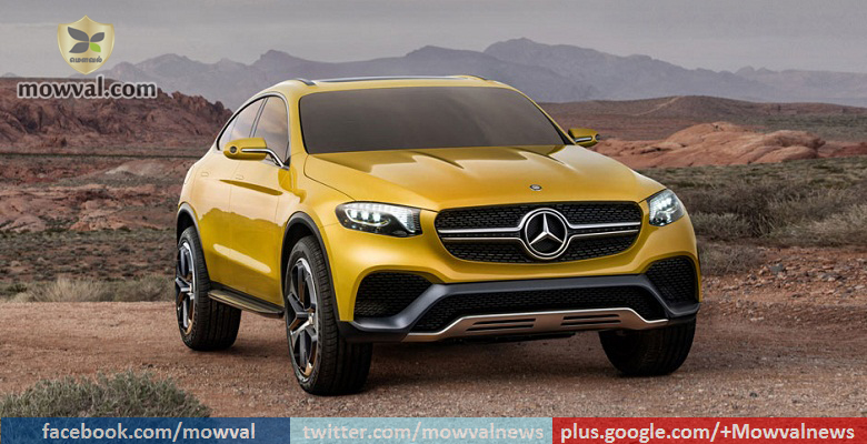 Mercedes-BenzMight Launch the GLC Coupe by  2017