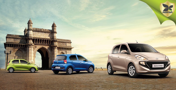All New Hyundai Santro Launched In India At Starting Price Of Rs 3.9 lakhs
