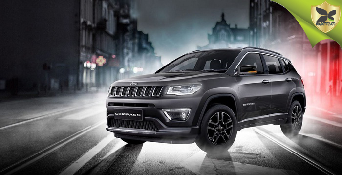 Jeep Compass Black Pack Edition Launched At Rs 20.59 Lakh