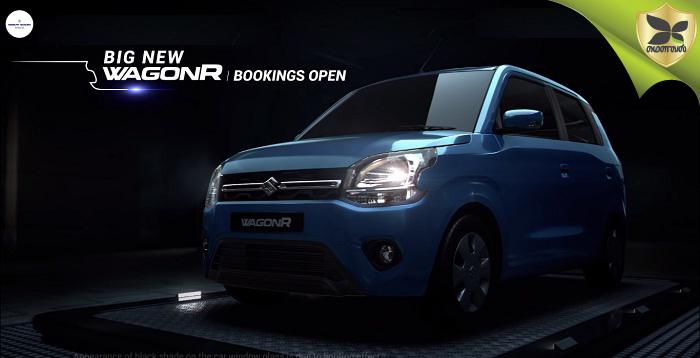 New-Gen Maruti Suzuki Wagon R Bookings Officially Open