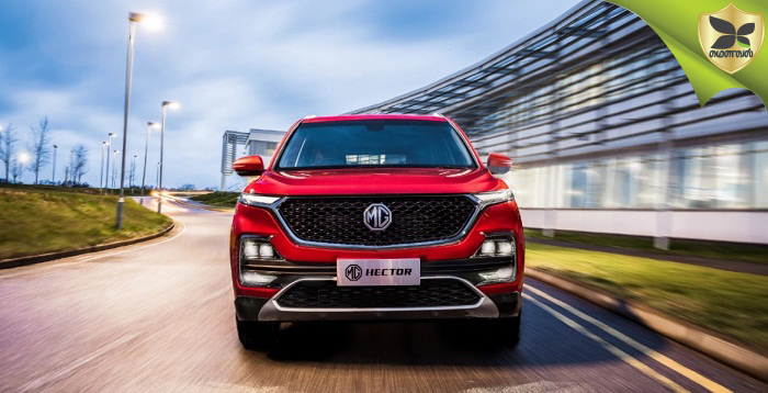 MG Hector Officially Revealed With Images
