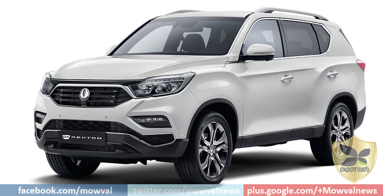 Next generation Ssangyong Rexton revealed Through Images