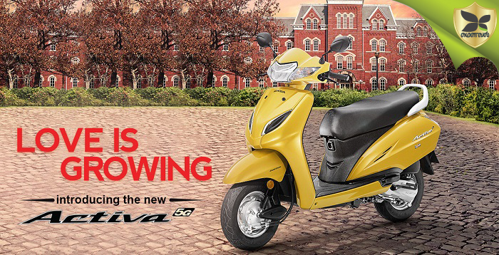 All New Honda Activa 5G Launched In India
