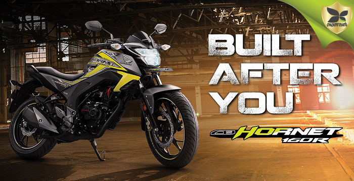 2018 Honda CB Hornet 160R Launched In India