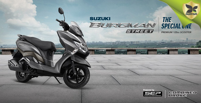 Suzuki Burgman Street Scooter Launched In India At Rs 71,064