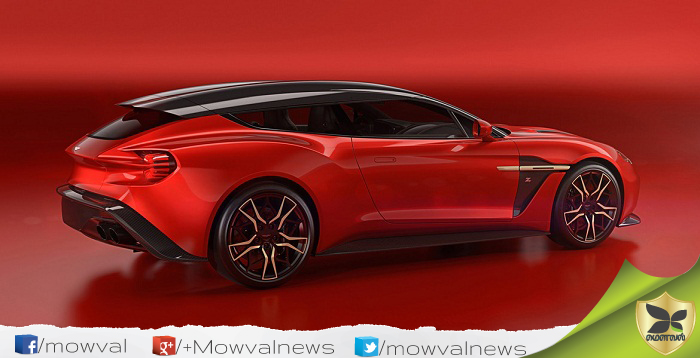 Aston Martin Officially Revealed The Vanquish Zagato Shooting Brake