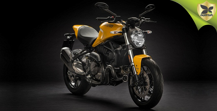 2018 Ducati Monster 821 launched in India at Rs 9.51 lakhs