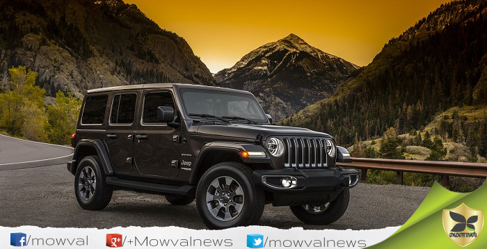 All New 2018 Jeep Wrangler Revealed In First Time