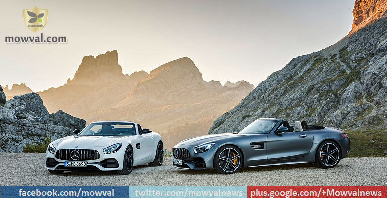 Mercedes-AMG GT and GT C Roadster Unveiled