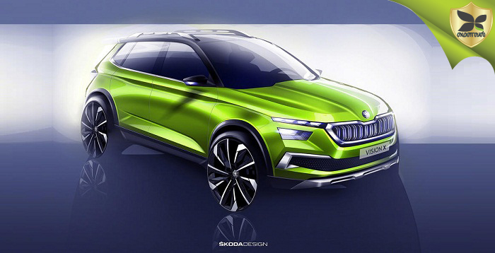 Skoda Teases Vision X Concept With Official Sketches