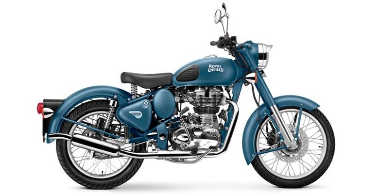 புதிய ஸ்குவாட்ரன் ப்ளூ வண்ணத்தில் வெளியிடப்பட்டது  ராயல் என்ஃபீல்ட் கிளாசிக் 500