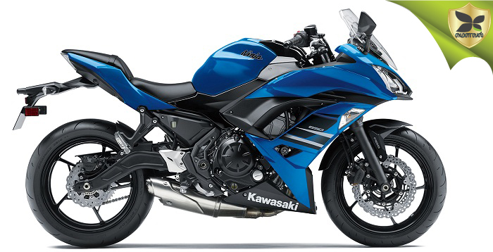 Kawasaki Launched Ninja 650 With New Blue Colour