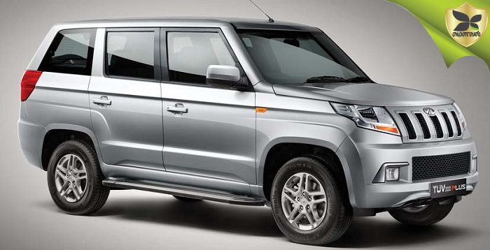 Finally Mahindra TUV300 Plus Launched At Rs 9.47 lakhs