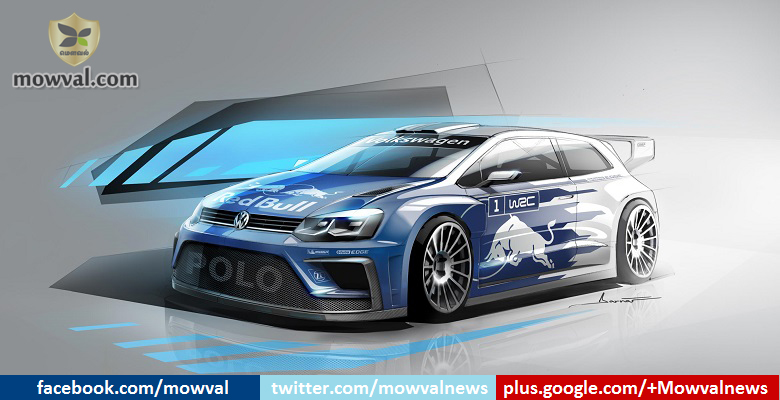 Volkswagen released the sketch image of 2017 Polo R WRC