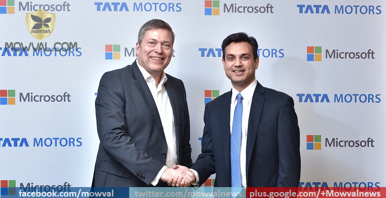Tata Motors and Microsoft India collaborate to redefine the connected Cars