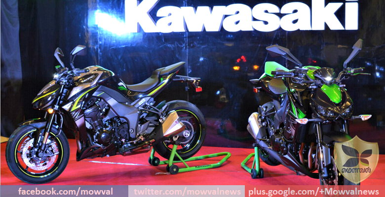 Kawasaki Launchd The 2017 Z1000, Z1000 R And Z250 In India